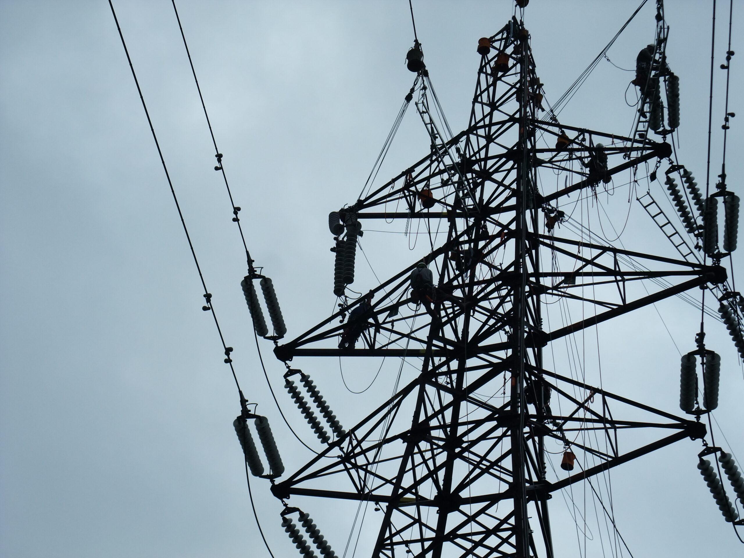 自営線と架空送電設備